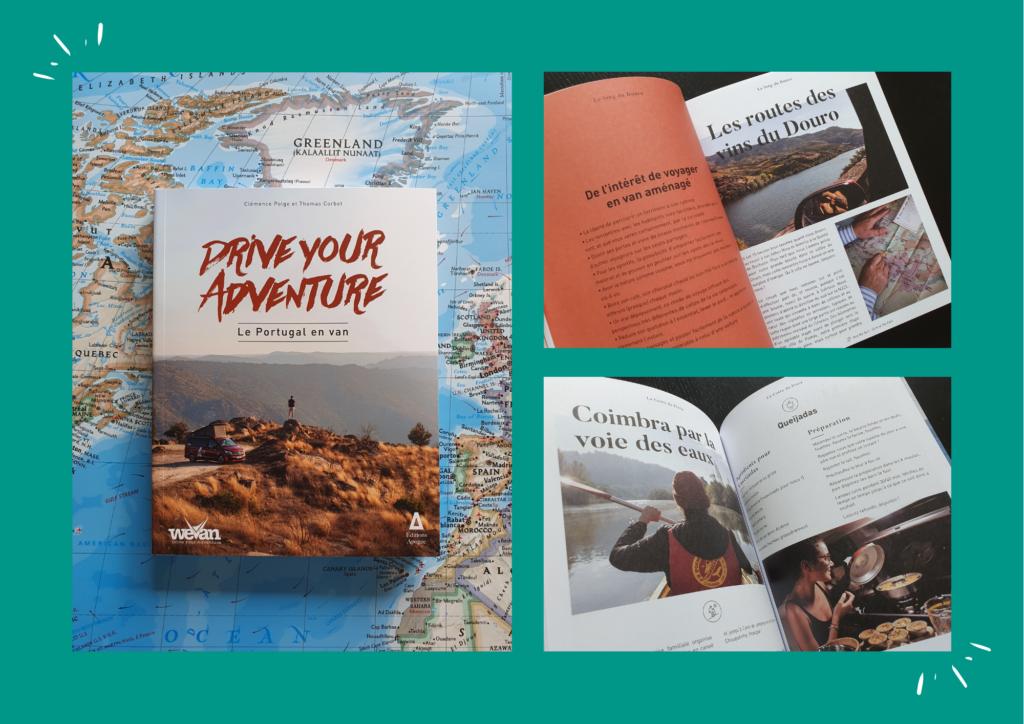 Drive Your Adventure – Le Portugal en van / Clémence Polge et Thomas Corbet / Editions Apogée x WeVan
