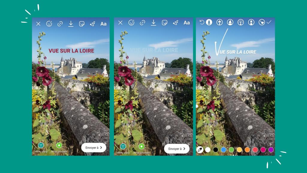 Stories Instagram - Vue sur la Loire