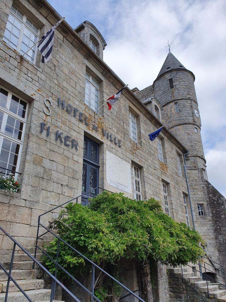 Pays Bigouden - Hôtel de ville Pont-l'Abbé